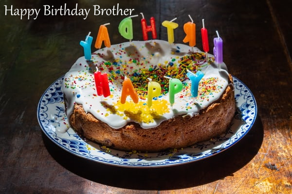 Happy Birthday Cake Images For Brother